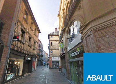 A vendre droit au bail local Toulouse quartier de la Bourse