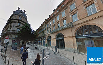 A LOUER LOCAL COMMERCIAL 100 M² QUARTIER ESQUIROL TOULOUSE