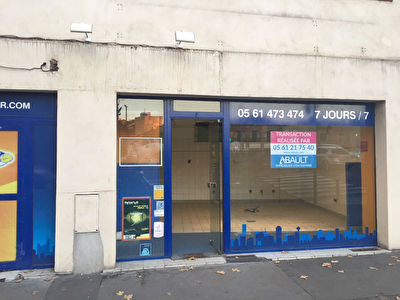 A LOUER LOCAL COMMERCIAL 175 M² BOULEVARD RIQUET  TOULOUSE