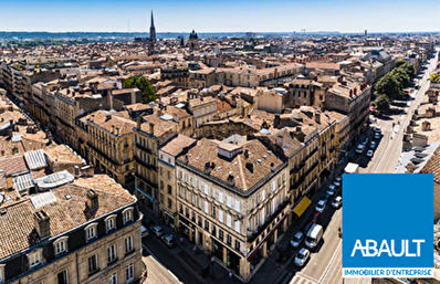 A louer Local commercial Bordeaux  60 m2 en Angle.