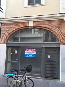 A louer local commercial  d'environ 22 m² Toulouse hypercentre