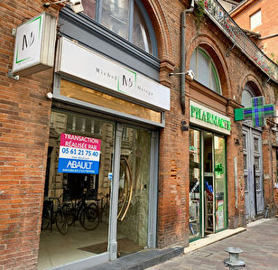 A LOUER LOCAL COMMERCIAL HYPER CENTRE CAPITOLE TOULOUSE  96 M² ENVIRON