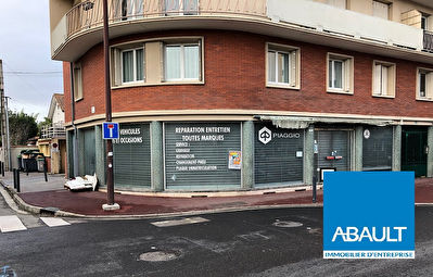 A LOUER LOCAL COMMERCIAL 1 AVENUE DE MURET 108 M² ENVIRON TOULOUSE